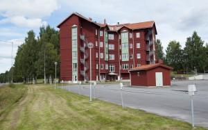 Lotsen i Ursviken i ombyggnadsskede och fasadbilder.